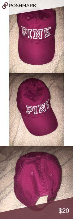 PINK baseball cap Victoria s Secret PINK baseball cap. Super cute never  been worn! PINK 6ae3b71784a2