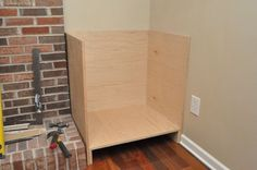 Building Built-In Cabinets and Shelves (part 1) - One Project Closer