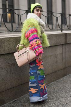 Pin for Later: Retour Sur les Meilleurs Looks Street Style de la Fashion Week de New York Jour 5
