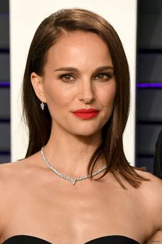 Vanity Fair Oscar Party, Golden Globe Award, Natalie Portman, Celebs, Celebrities, Pretty Woman, Girl Power, Pop Culture, Hair Makeup