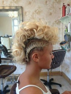 This is a sick as up do
