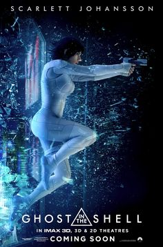 Espectacular poster de Ghost in the Shell