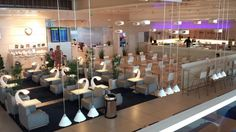The international departures lounge at HEL. A very beautiful place, indeed.