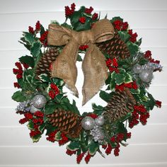 Wreath | Restyle Relove: Divine DIY Christmas Wreath