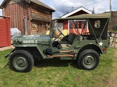 1942 Willys MB - Photo submitted by Niclas Lindqvist.