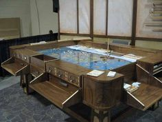 gaming table made by geek chic 1.
