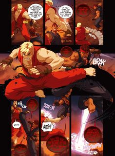 Street Fighter Unlimited Issue - Read Street Fighter Unlimited Issue comic online in high quality Street Fighter Comics, World Of Warriors, King Of Fighters, Comic Games, Anime Comics, Dc Comics, Image Comics, Fighting Games, Game Character