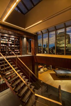 Penthouses: 66 Leonard Street, Amazing Tribeca Rooftop Penthouse, New York City  © courtesy of Peter McCuen & Associates  Click the picture for more!