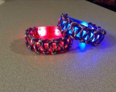 LED Glow in the Dark Paracord Bracelets
