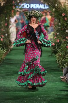 Rocío Peralta - We Love Flamenco 2018 Bohemian Gypsy, Our Love, Mermaid, Costumes, 3, Dresses, Passion, Style, Crochet