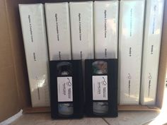 VideoText Interactive Algebra A B C D E F Complete SET Pre 1 & 2  6 modules VHS #VHSBooklets