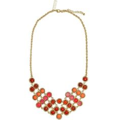 Tiffany Statement Necklace in Parrot - Kendra Scott Jewelry ($70) ❤ liked on Polyvore