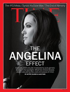 TIME Cover: The Angelina Effect