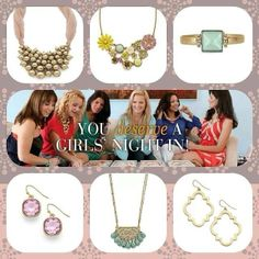 Affordable boutique jewelry - cookie lee.  www.cookielee.biz/tinafrisinger
