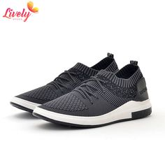 Wholesale new style flyknit sport running shoes for men Sneaker Casual shoe  Breathable