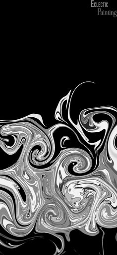 Download Free HD iPhone Wallpaper With Abstract White and Grey Swirls