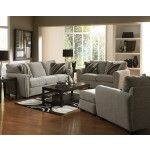 Jackson Furniture - Abby 3 Piece Living Room Set in Stone Fabric - 3308-03-3SET  SPECIAL PRICE: $1,927.00