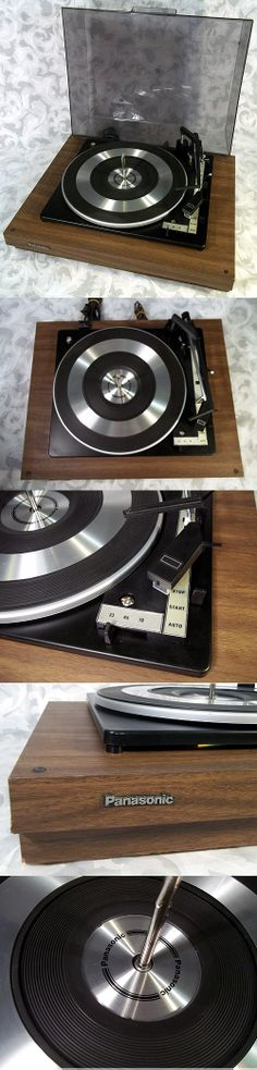 Sold VINTAGE 1975's PANASONIC RD-3100 Automatic Turntable w BSR C141R1.A.1 Made in Great Britain