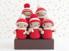 Amigurumi coro de Navidad