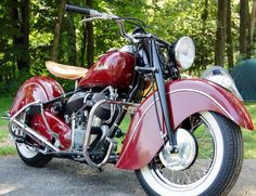 Immaculate'47 Indian Chief m/c