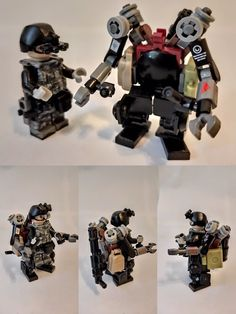Lego Mechs, Lego Minifigs, Lego Machines, Lego Creative, Lego Truck, Vaporwave Wallpaper, Micro Lego, Cool Lego Creations, Lego Design