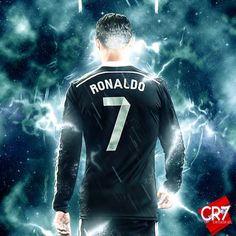 Cristiano Ronaldo in Real Madrid Design, made by CR7 Designs.