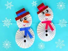 DIY Снеговик из бумаги своими руками.Новогодние поделки. Muñeco de nieve de papel. Paper Snowman. - YouTube Felt Christmas Ornaments, Christmas Crafts For Kids, Christmas Snowman, Diy Crafts For Kids, Christmas Decorations, Diy Paper, Paper Crafts, Pirate Kids, Classroom Crafts