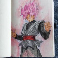 Super Saiyan Rosé Goku Black :D what you guys Think ? #drawing #draw #worldofartists #worldofpen #polychromos #Artwork #art_help #art #prismacolor #spectrumnoir #copicmarkers #aquarell #anime #manga #nerd #nerdartwork #dragonballz #dragonball #dragonballsuper #songoku #vegeta