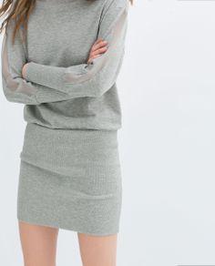 ZARA - TRF - JERSEY DRESS