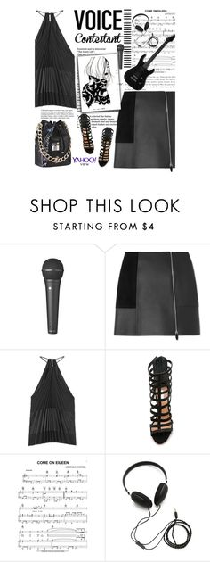 """""""TV Fashion: The Voice"""" by amimcqueen ❤ liked on Polyvore featuring Alexander Wang, Altuzarra, Schutz, Molami, thevoice and YahooView"""