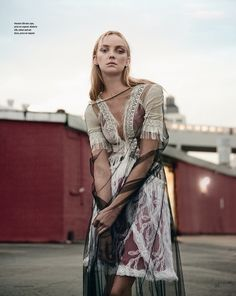 Appearing in the January 2016 issue of How to Spend It Magazine, Heather Marks showcases the best of sheer and opaque layers from the spring collections. Photographed by Kevin Sinclair and styled by Damian Foxe, the Canadian model wears the latest designs of Chanel, Prada, Dries Van Noten and more top brands against an urban …