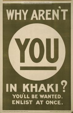 Examples of Propaganda from WW1 | British WW1 Propaganda Posters Page 81