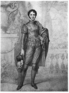 "Sir Henry Mildmay (4th Baronet?) 1787-1848 With Beau Brummell received the ""CUT DIRECT"" from the Prince Regent, George in 1813 (Are you a RAPper or RAPScallion? http://www.regencyassemblypress.com)"