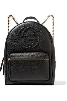 b5eaa22d7b0 Gucci - Soho textured-leather backpack