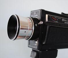Bell & Howell Super 8 Zoom Movie Camera