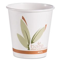 Bare By Solo Eco Forward Recycled Content Pcf Hot Cups, Paper, 10 Oz, 1000/ctn Tags:  Eco Friendly Paper Cup; Cups/Lids/Paper Hot/Cold/Combos; Eco Friendly Paper Cup; https://www.ktsupply.com/products/33356391652/Bare-By-Solo-Eco-Forward-Recycled-Content-Pcf-Hot-Cupscomma-Papercomma-10-Ozcomma-1000ctn.html