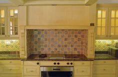 Handmade tile - kitchen splashback - Kashmir