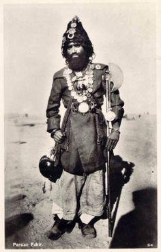 1930s Iran - Persian Fakir.