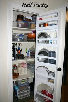 """My laundry room is basically a """"walk-thru"""" from the garage to the house. Even with my family dwindling, it still gets a lot of use. Laundry Room Tables, Laundry Room Rugs, Laundry Room Doors, Laundry Room Cabinets, Laundry Room Storage, Laundry Room Design, Storage Spaces, Storage Ideas, Kitchen Design"""