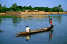 Niger River Guinea   Guinea travelogue