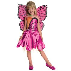 Barbie mariposa costume - Shea Halloween