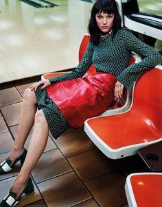 visual optimism; fashion editorials, shows, campaigns & more!: in my skin: anya lyagoshina by naomi yang for vogue taiwan august 2015