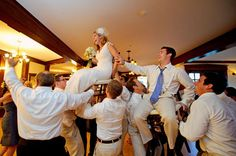 Jewish wedding hora - this would be fun. Hope I don't fall off