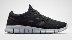 quality design 7fe69 03aa5 Nike Roshe Run Triple Black with Custom White Candy Drip Swoosh Paint