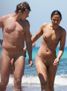 Nude beach couples hung