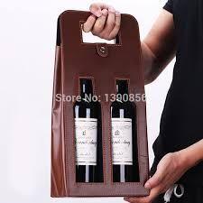 Resultado de imagem para Leather Wine Bottle Carrier