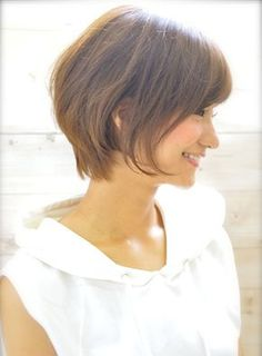 0d0239e2826c1c89e924d30bc9fe1db8 Good Hair Day, Great Hair, Short Hairstyles For Women, Cool Hairstyles, Medium Hair Styles, Short Hair Styles, Chin Length Hair, My Hairstyle, Asian Hair