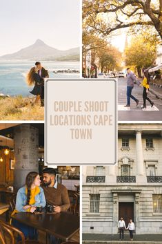 Stunning locations in Cape Town for couple or engagement sessions. Engagement Couple, Engagement Shoots, Couple Photography Poses, Best Location, Couple Shoot, Cape Town, Beautiful Places, Photoshoot, Couples
