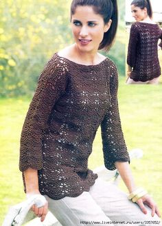 Inspirations Croche with Any Lucy: Blouse.