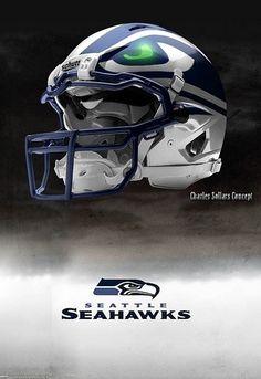 Seahawks bad ass Helmet